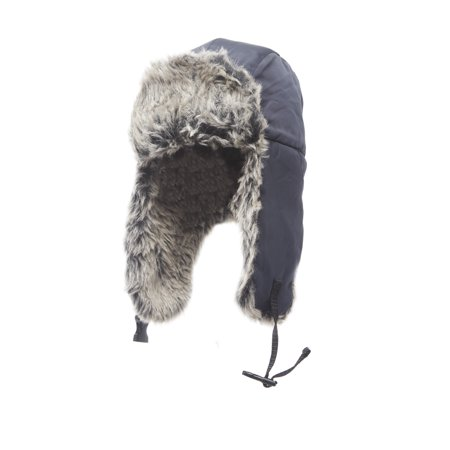 Heat Edge Mens Winter Warm Trapper Hat for men ()