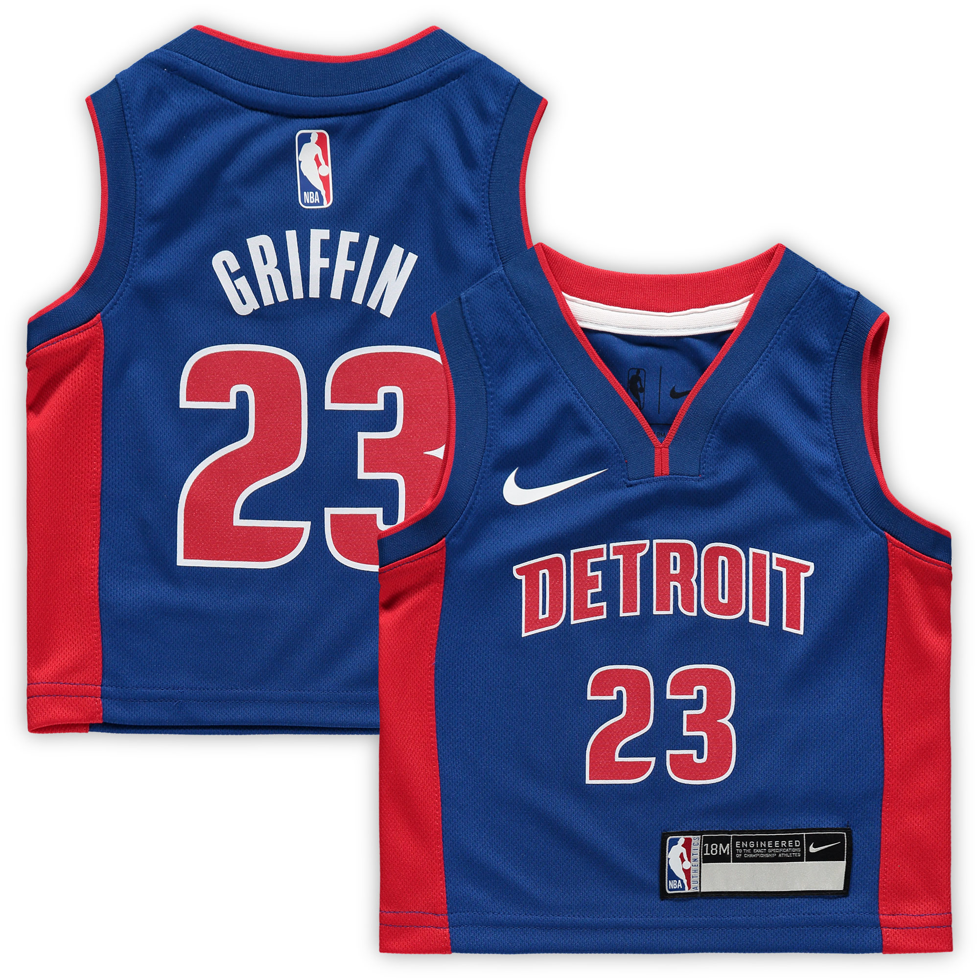 Blake Griffin Detroit Pistons Nike Infant Icon Replica Jersey - Blue