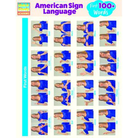 American Sign Language  First 100 Words