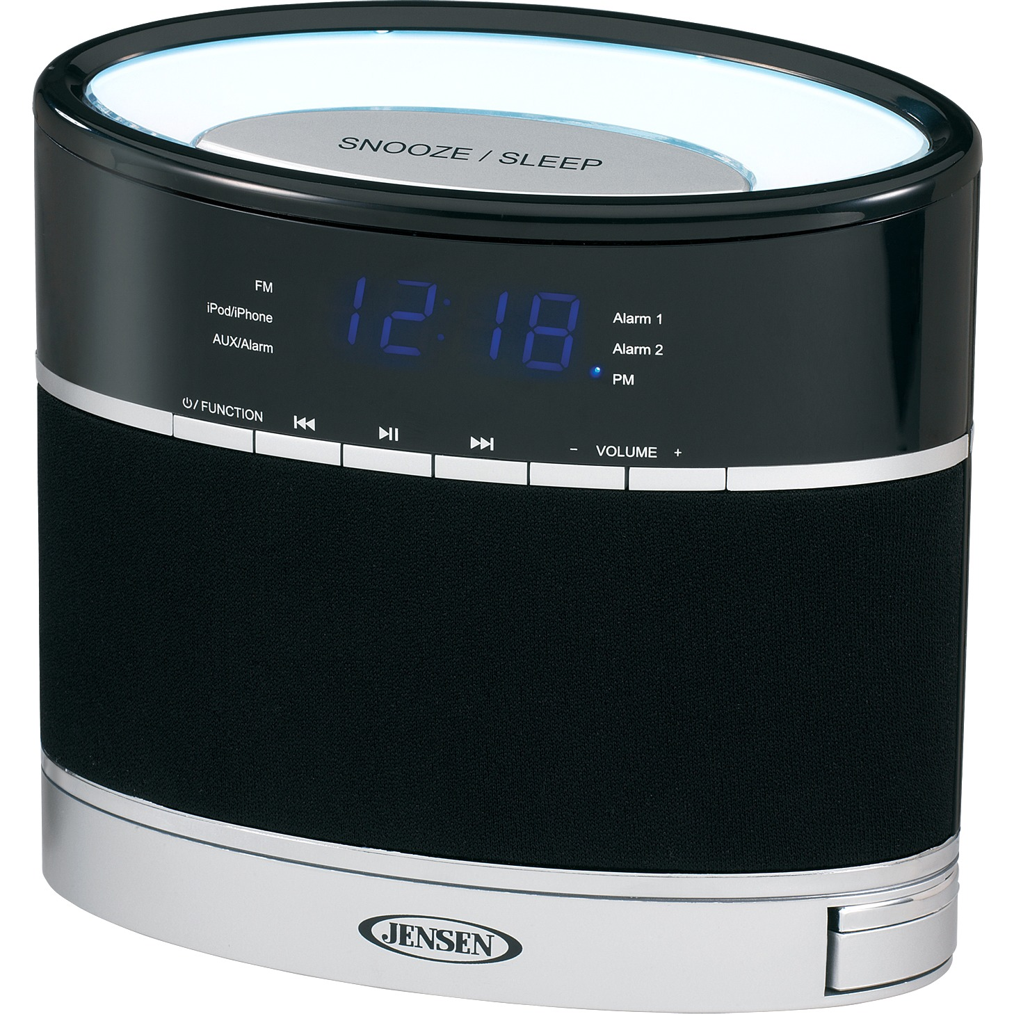 Jensen Docking Digital Music System for iPod and iPhone with Night Light -  Walmart.com