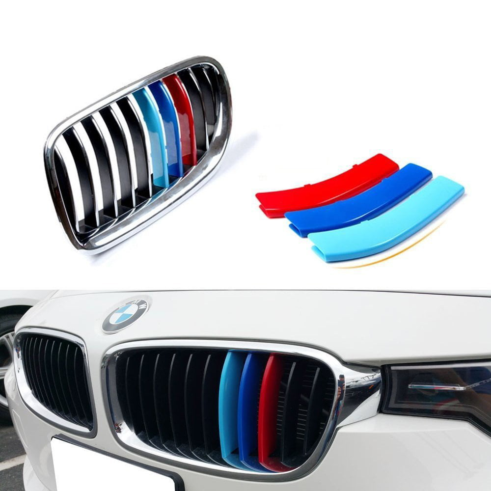 Ijdmtoy Exact Fit M Colored Grille Insert Trims For Bmw F30 3