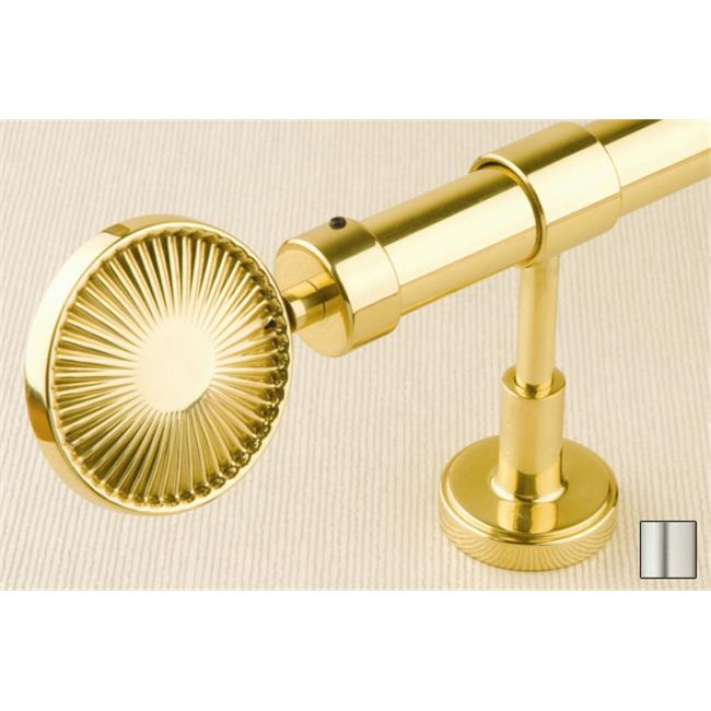 WinarT USA 8. 1132. 30. 01. 280 Liber 1132 Curtain Rod Set - 1. 25 inch - Matte Nickel - 110 inch