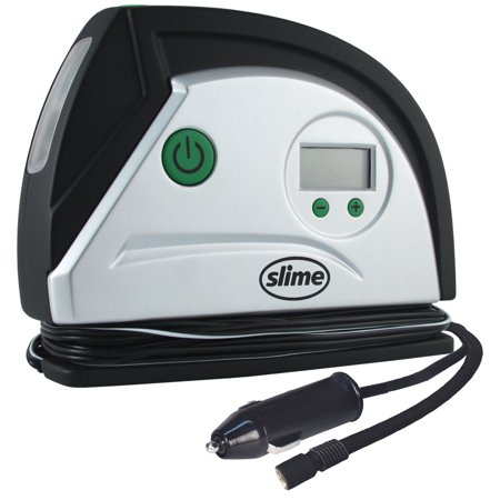 Slime 12 Volt Digital Tire Inflator With LED Light - 40051
