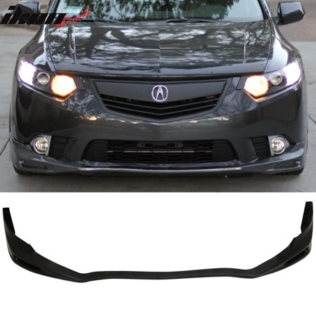 Fits Acura TSX Front Bumper Lip Splitter Protector Unpainted - Acura tsx front lip