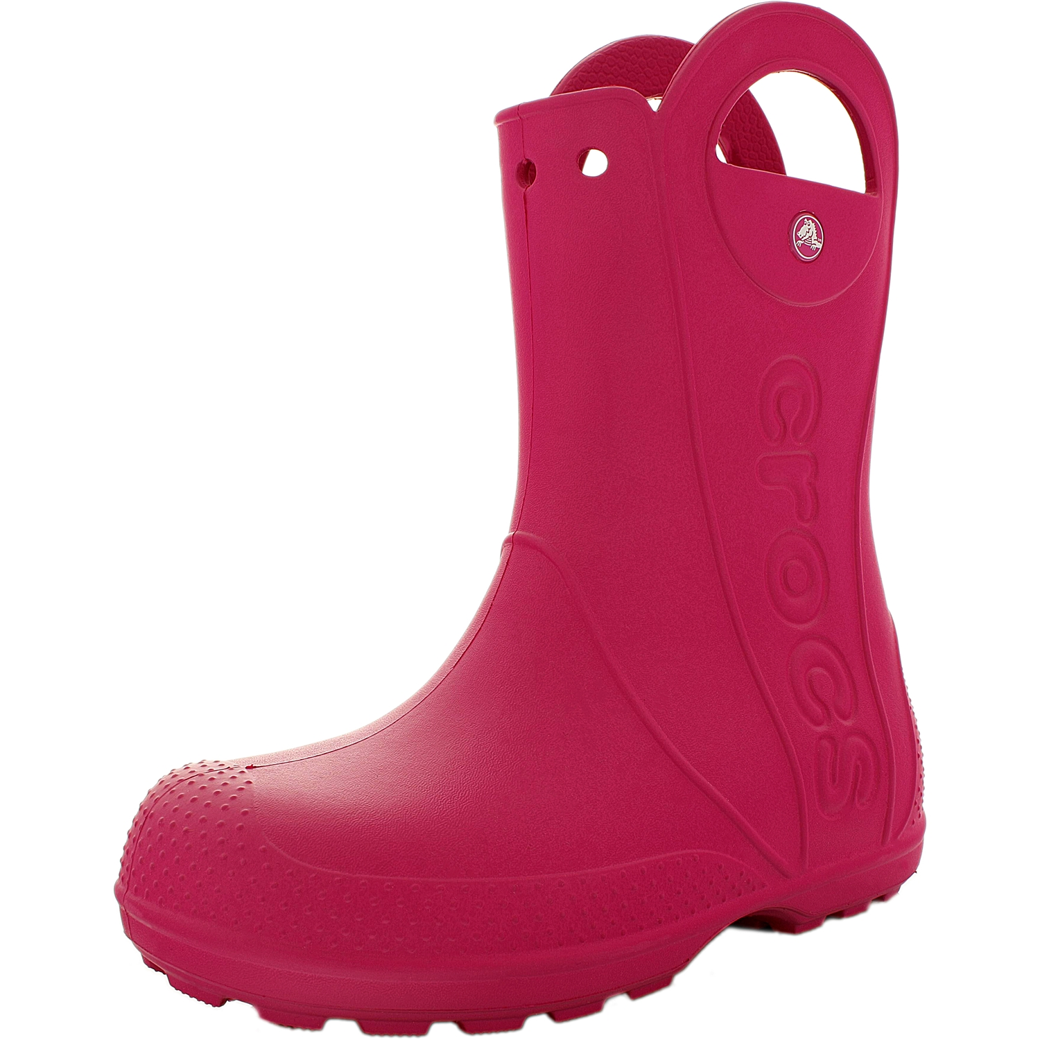 Crocs Girl's Handle It Candy Pink High-Top Boot 12M by Crocs