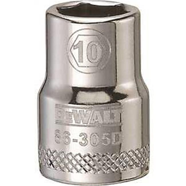 Stanley Tools 7518939 DWMT86305OSP 0.375 Drive 6 Point Socket, 10 mm