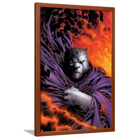 New X-Men No.153 Cover: beast Framed Poster Wall Art By Marc Silvestri