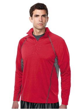 Tri-Mountain Men's Ultracool 1 4 Zip Pullover Shirt