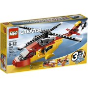 "Lego Creator ""Rotor Rescue"" 3-In-1 Helicopter/Biplane/Speedboat 149 Piece Set"