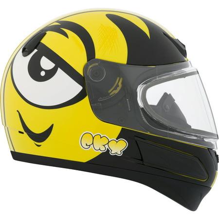 Double Helmet - CKX Ink VGK1 Full-Face Helmet, Winter - Youth Double Shield