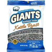 (Price/Case)Giant Snack 24500 Giants Kettle Fresh Cracked Pepper Seeds 12-5 Ounce