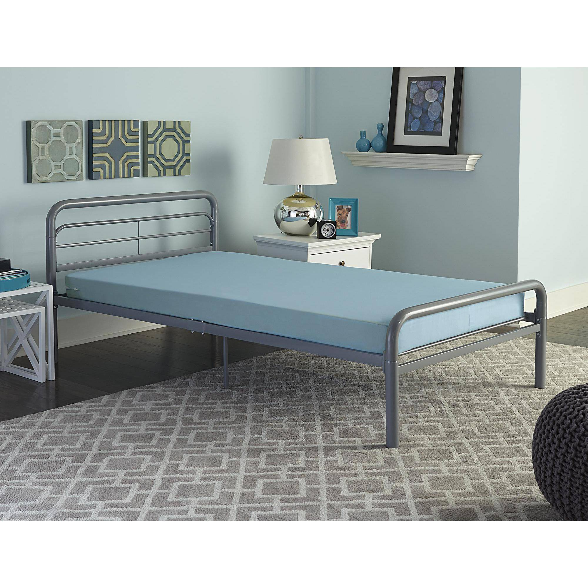 Dorel Home Products Twin Mattress, Blue