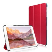 Tab S2 8.0 Case, JETech® Gold Slim-Fit Smart Case Cover for Samsung Galaxy Tab S2 8.0 inch Tablet with Auto Sleep/Wake Feature (Red)