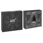 Mont Blanc Explorer: EDP 3.4 oz + After Shave Balm 3.4 + Shower Gel 3.4 oz