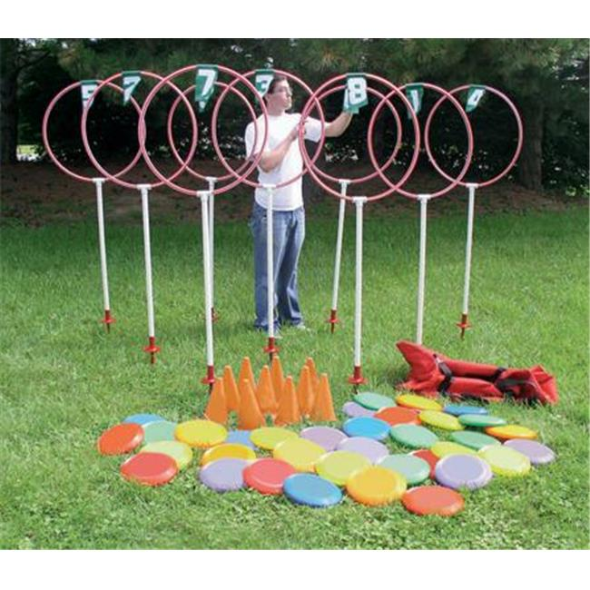 Olympia Sports GA539M Disc Golf Target Set 9-Hole by
