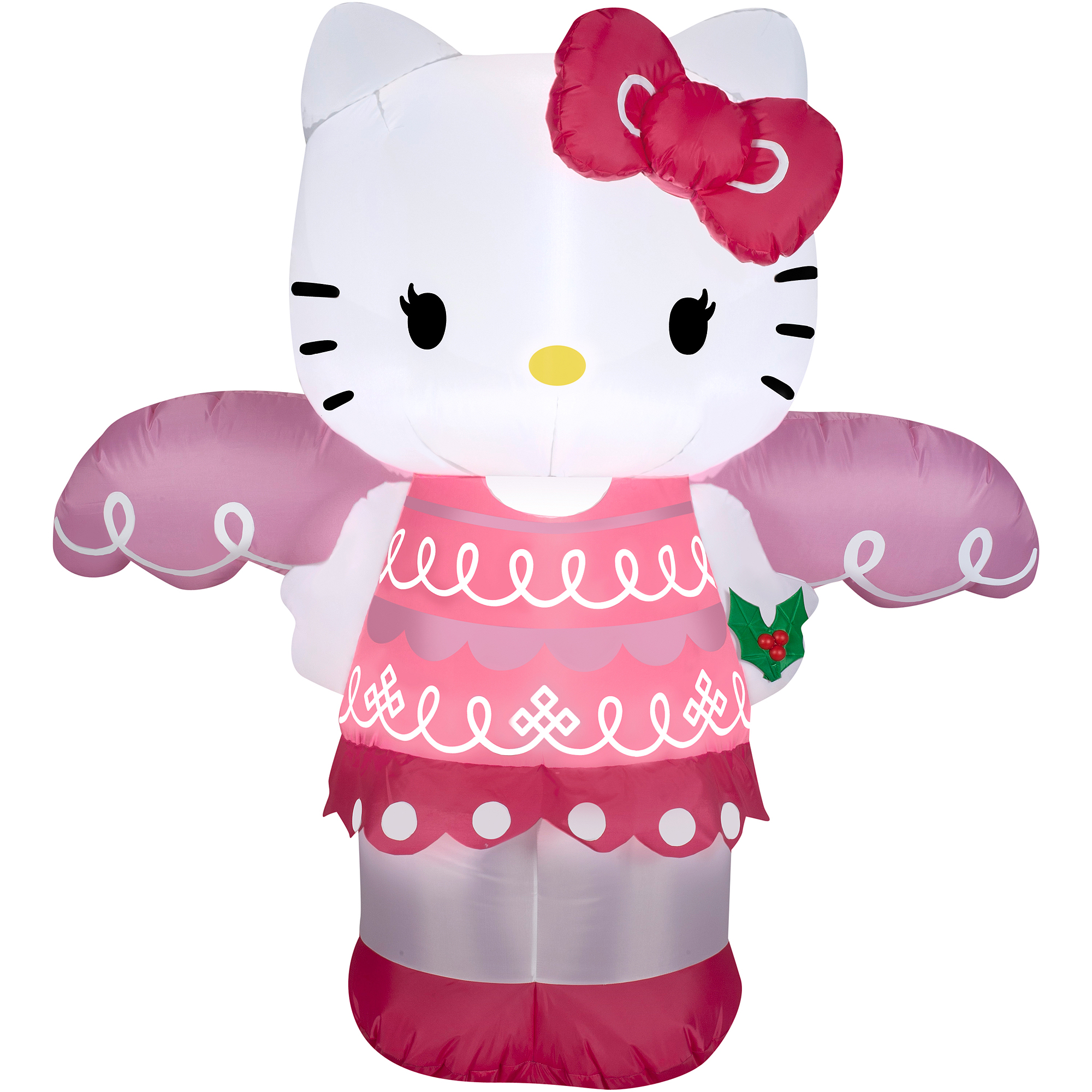 Airblown Inflatable 4u0027 Hello Kitty Angel Christmas Prop