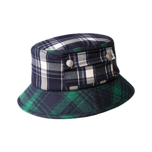 41bc4dfe6fad4e KANGOL - Men's Kangol Plaid on Plaid Bucket Hat - Walmart.com