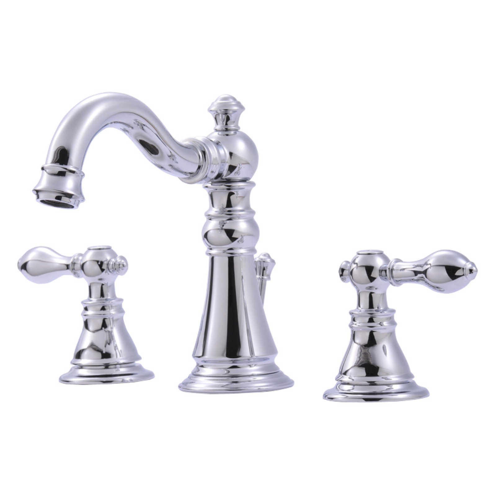 ultra faucets uf55110 2handle chrome lavatory faucet with popup drain