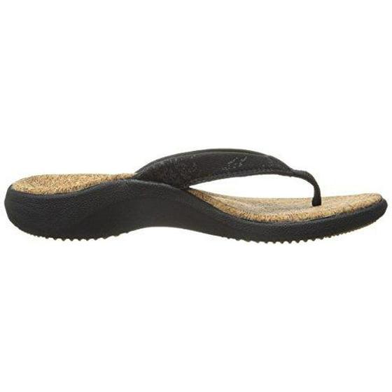 b6603cb32f1 SOLE - SOLE Casual Cork Flip Flops - Women s - Coal - Walmart.com