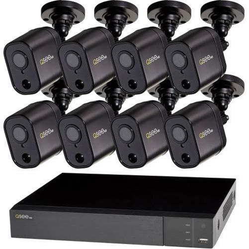 Q-SEE 8CH 1080P ANALOG HD DVR WITH 8 1080P PIR CAMERAS & 2 TB HDD
