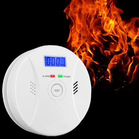 Ionization Smoke and  (CO) Carbon Monoxide Alarm Detector (White)