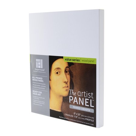 The Artist Panel Primed Smooth Cradled Profile 7/8 in., 4 in. x 6 in. (pack of 2) ()