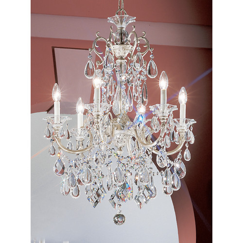 Classic Lighting Via Venteo 6 Light Chandelier