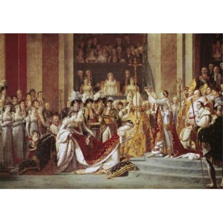 Superstock SAL3804398017 The Consecration of the Emperor Napoleon & the Coronation of the Empress Josephine in the Cathedral of Notre-Dame De Poster Print, 18 x 24 - image 1 de 1