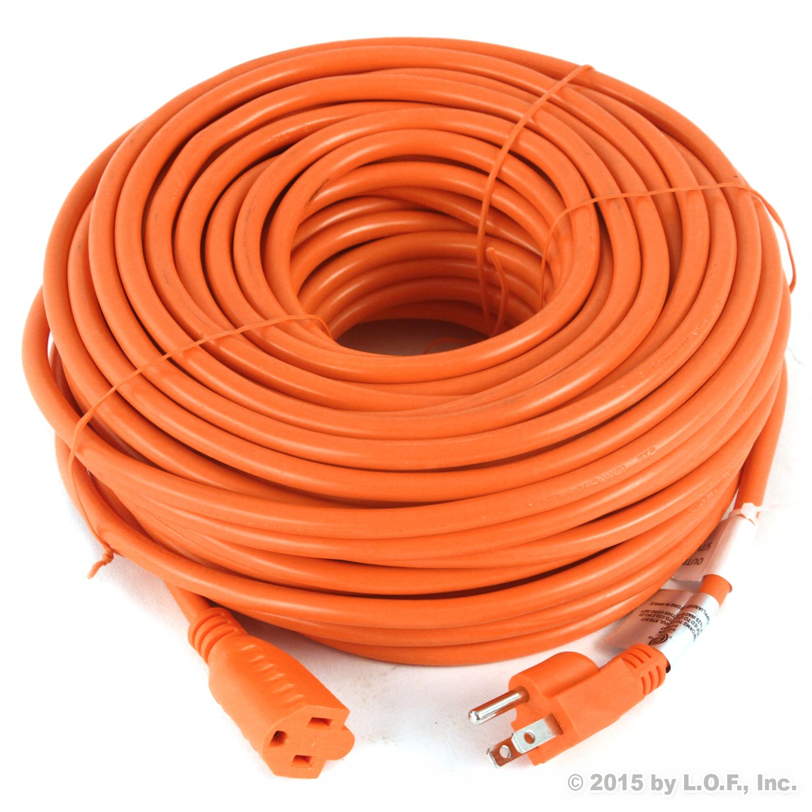 10) Premium Outdoor Extension Cord 125 Volt Cable 100ft 16/3 Indoor Contractor