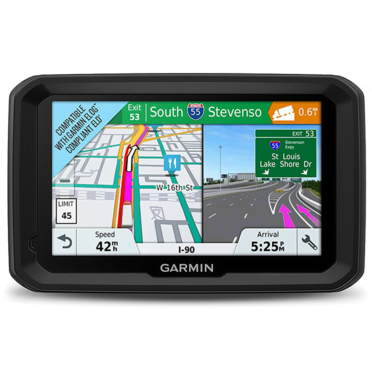 Garmin Dezl 580 LMT-S 5 inch GPS Navigator for Trucks & Long Haul (010-01858-02)