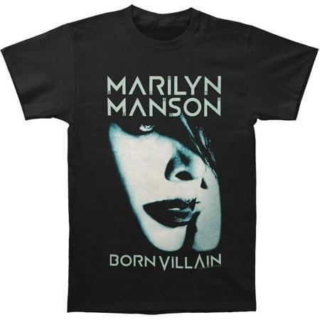 Marilyn Manson Men's  Born Villain Album Cover 2012 Tour T-shirt Black](Halloween Marilyn Manson Cover)