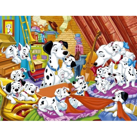 101 Dalmatians Personalized Edible Frosting Image 1/4 sheet cake (101 Dalmations Cake)