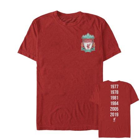 Hawaii Football T-shirt (Liverpool Football Club Men's Bird Shield 2019 Winners)