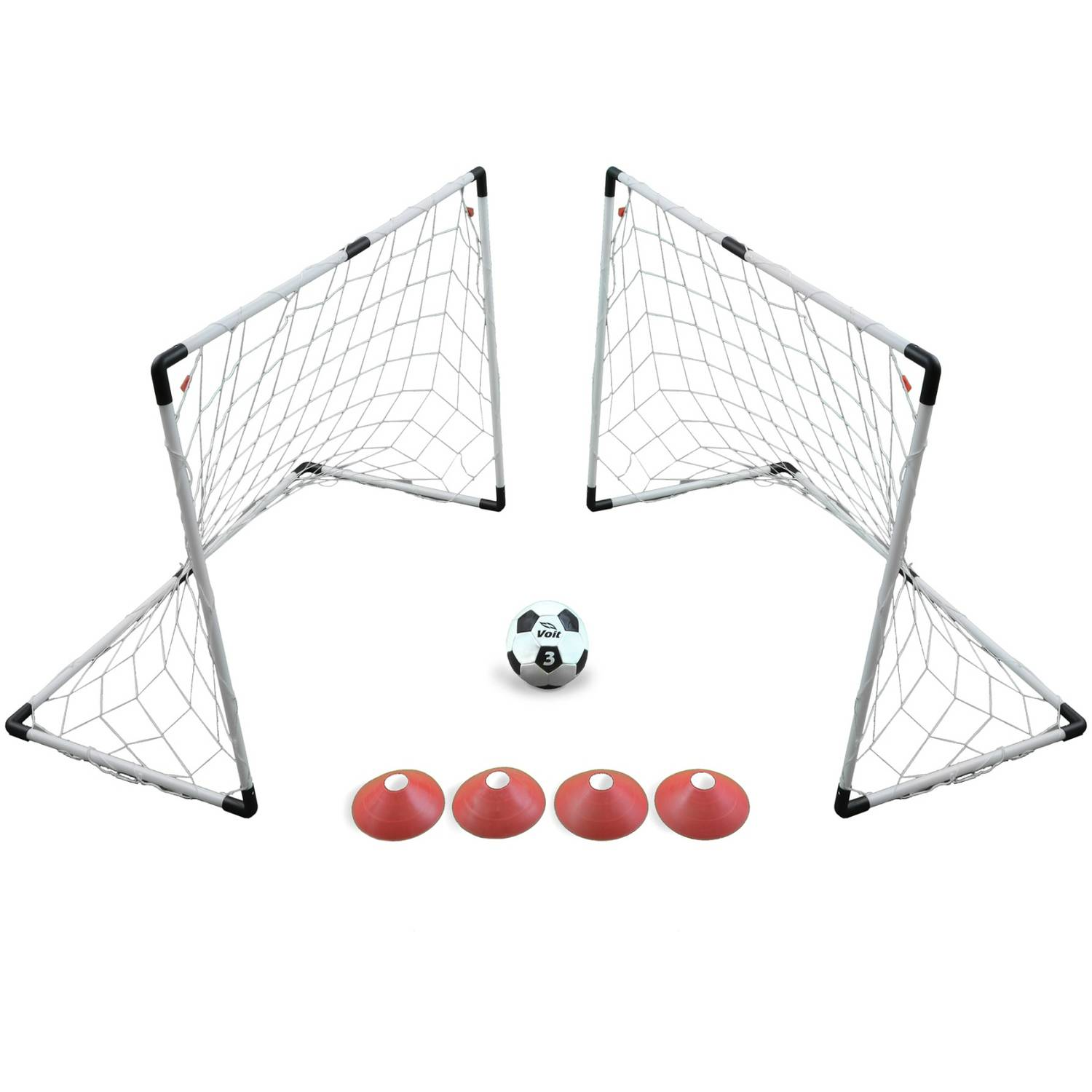 Voit 2 Goal 4' x 3' Soccer Game Set