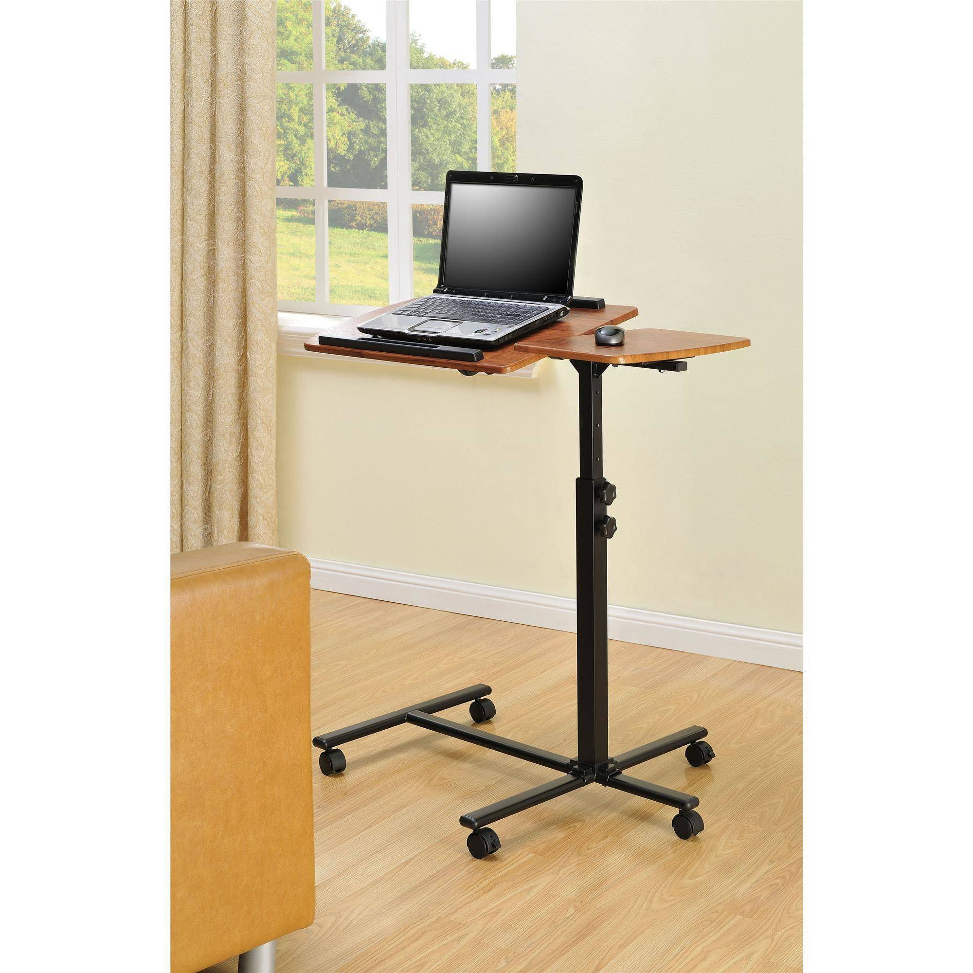 Altra Furniture Laptop Cart, Cherry