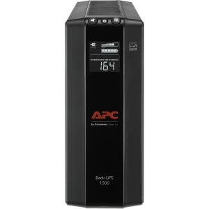 APC 1500VA Compact UPS Battery Backup & Surge Protector, Back-UPS Pro (Apc Back Ups Pro 500 Replacement Battery)