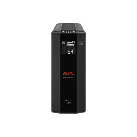 Optional Battery Backup Unit - APC 1500VA Compact UPS Battery Backup & Surge Protector, Back-UPS Pro (BX1500M)