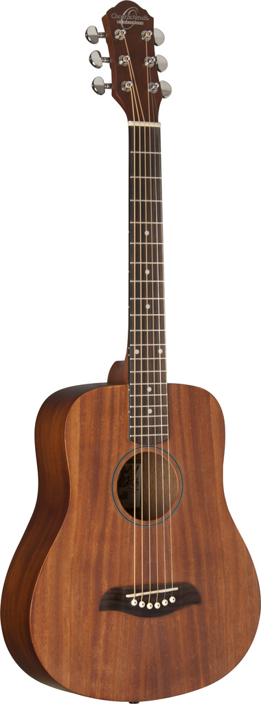 Oscar Schmidt Mini Travel Guitar, Mahogany Top OGM8M by Oscar Schmidt