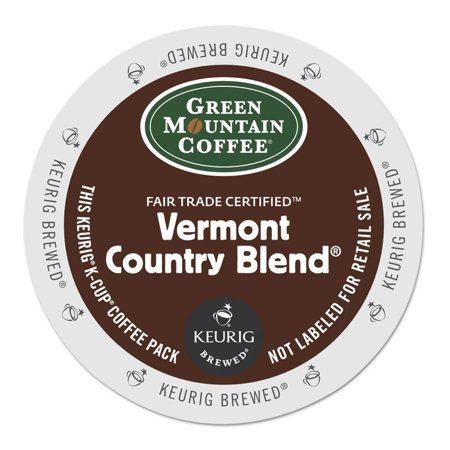 Green Mountain Vermont Country Blend Coffee K-Cups, 24/Box -GMT6602