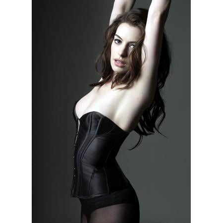 - Anne Hathaway Poster Sexy Bustier
