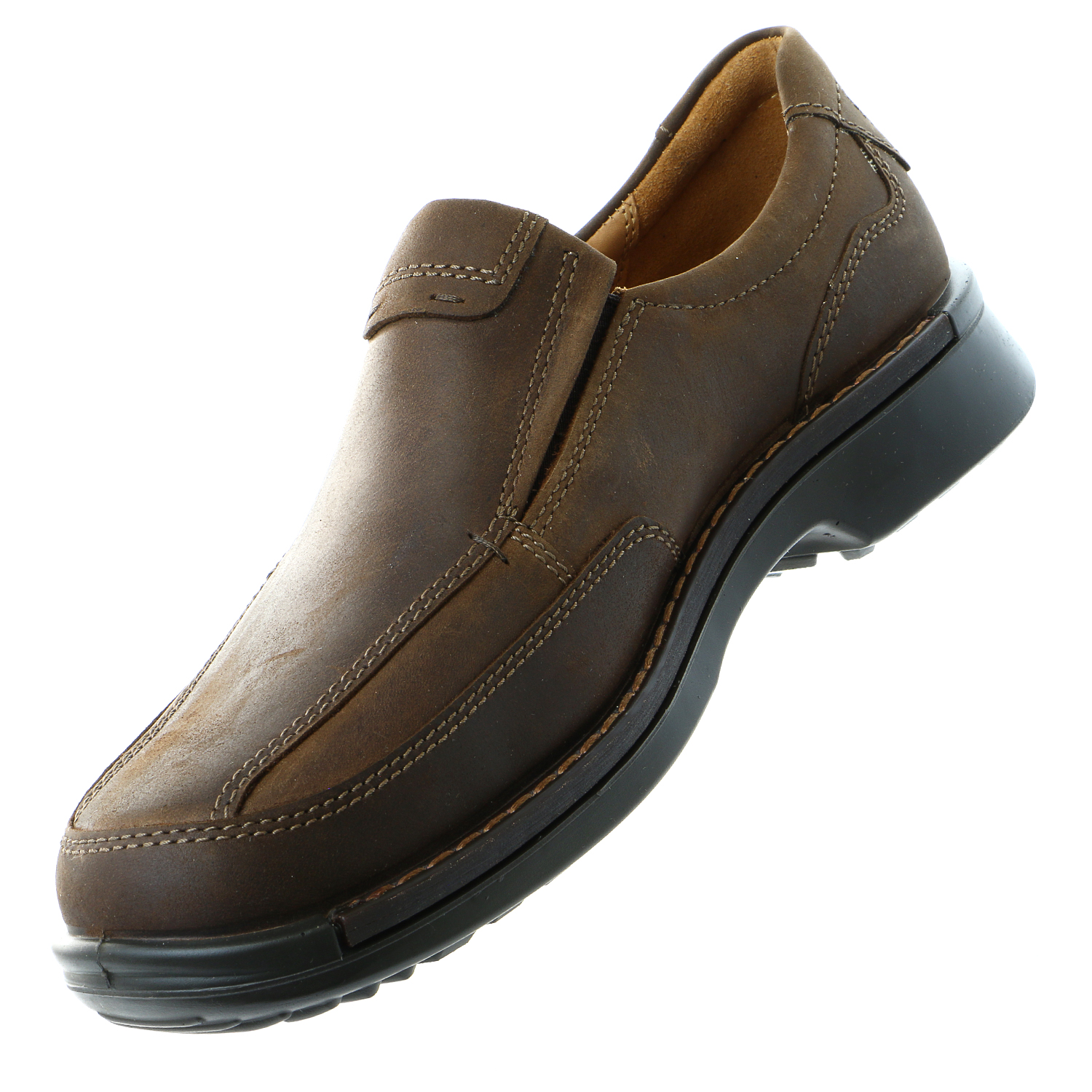 Ecco Fusion Slip-On Loafer Shoe - Cocoa Brown (Mens)