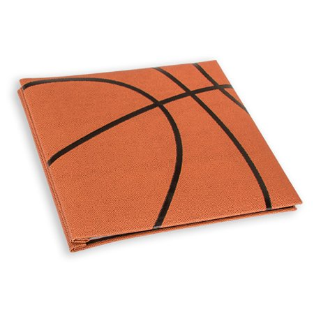 Scrapbook Basketball Textured Cover 12X12 W5 Page Protectors - 12x12 Scrapbook