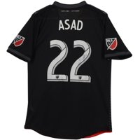 Yamil Asad D.C. United Autographed Match-Used Black #22 Jersey vs. New York City FC on October 21, 2018 - Fanatics Authentic Certified