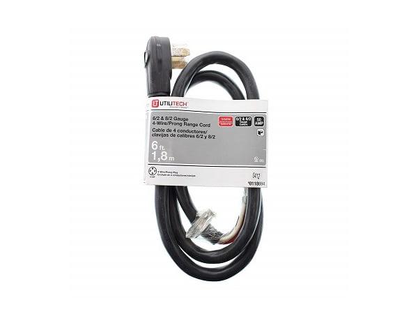 Utilitech 6  2  U0026 8  2 Gauge 50 Prong Plug 6
