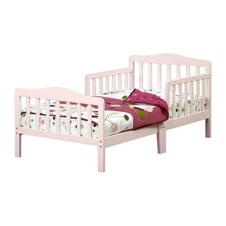 Orbelle Wooden Toddler Bed Pink