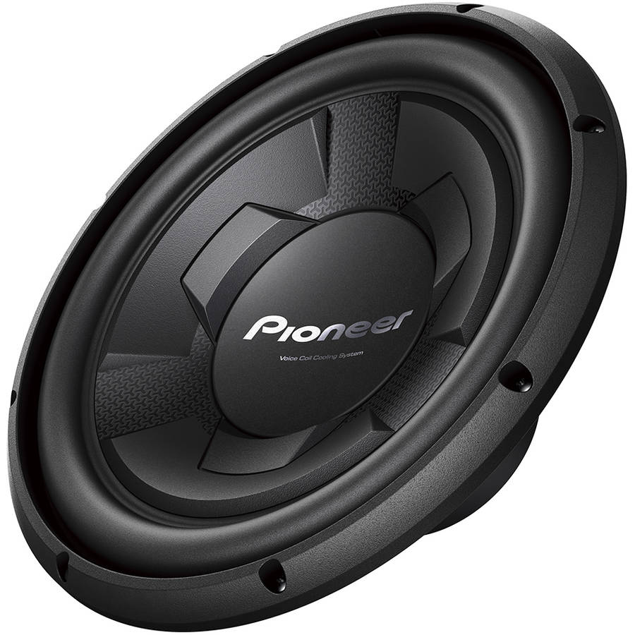"""Pioneer 12"""" Subwoofer, IMPP Cone with VCCS, 1,300-Watt Max Power by Pioneer"""