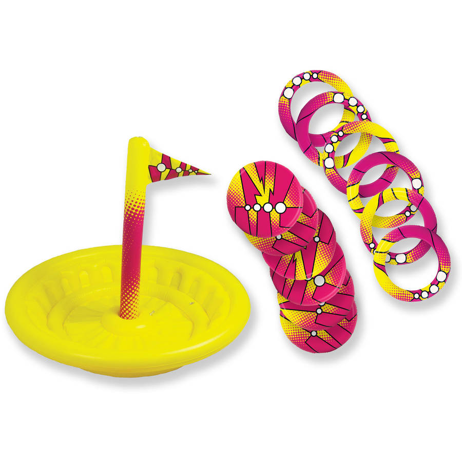 Inflatable Water Disc Golf Game