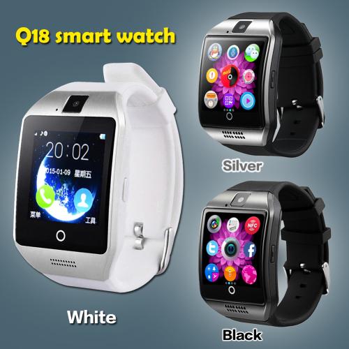 Основная функция smart watch q18 — прием и совершение звонков без использования смартфона.