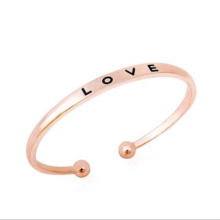 LOVE Openable Bracelet Simple Bracelets