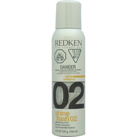 Redken Shine Flash 02 Glistening Mist Spray  4 4 Oz